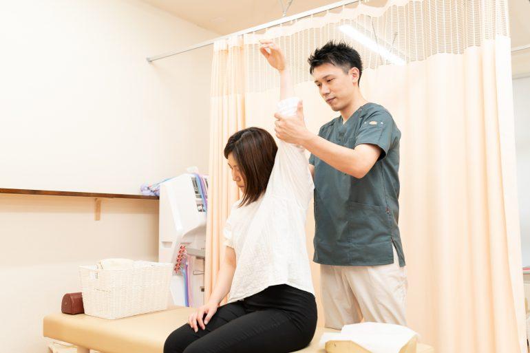 肩痛治療|郡山市の生田接骨院